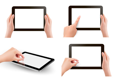 resistive und kapazitive Touchscreens